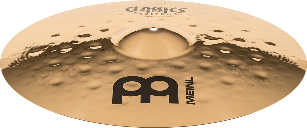 "Prato de bateria Crash 19"" Meinl - Classics Custom Extreme Metal"