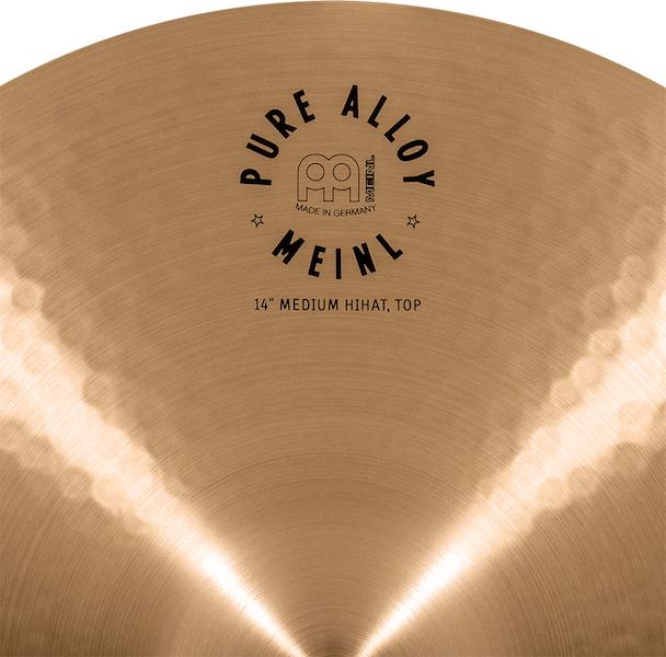 "Prato de bateria MEINL 14"" Medium Hihat - Linha Pure Alloy"