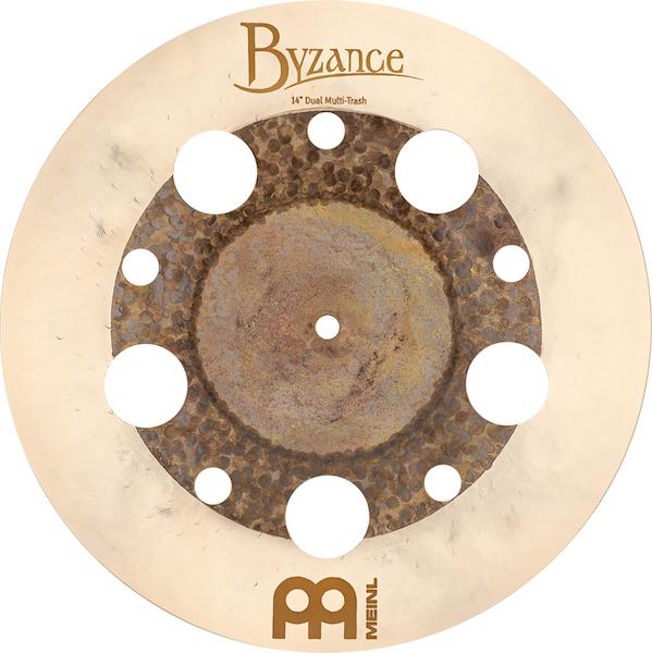 "Prato de bateria Multi Trash 14"" Meinl - Byzance Dual"