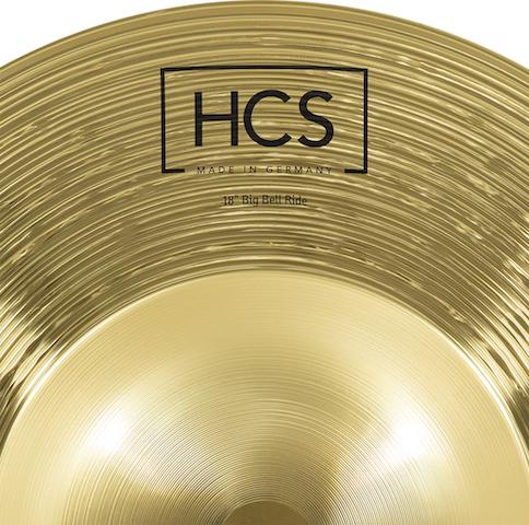 "Prato de bateria Ride 18"" Meinl - HCS Big Bell Ride"