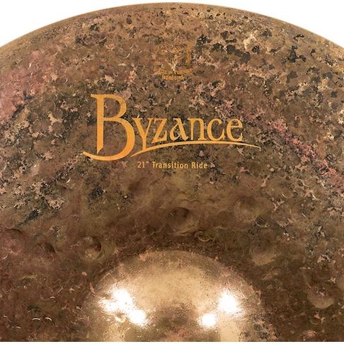 """Prato de bateria Ride 21"""" Meinl - Byzance Transition Ride"""