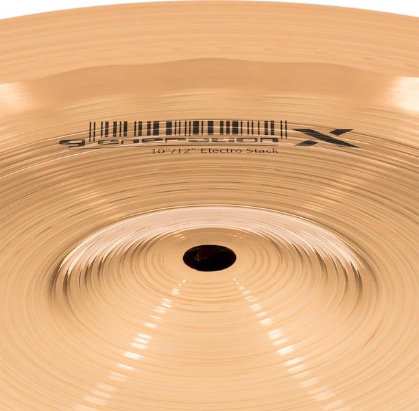 """Prato de bateria Stack 10""""/12"""" Meinl - Generation X"""