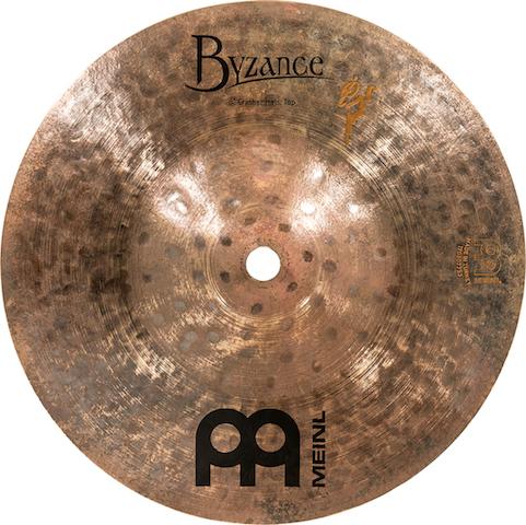 "Pratos de bateria Crasher Hats 8/8"" Meinl - Signature Benny Greb"