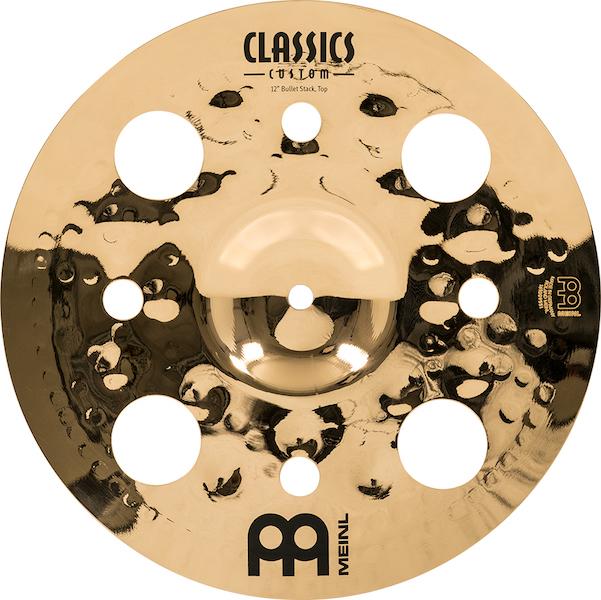 "Pratos de bateria Stack 12/16"" Meinl - Artist Concept Signature Luke Holland"