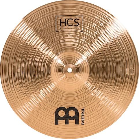 """Set de pratos MEINL HCS Bronze - 14"""", 16"""" e 20"""""""