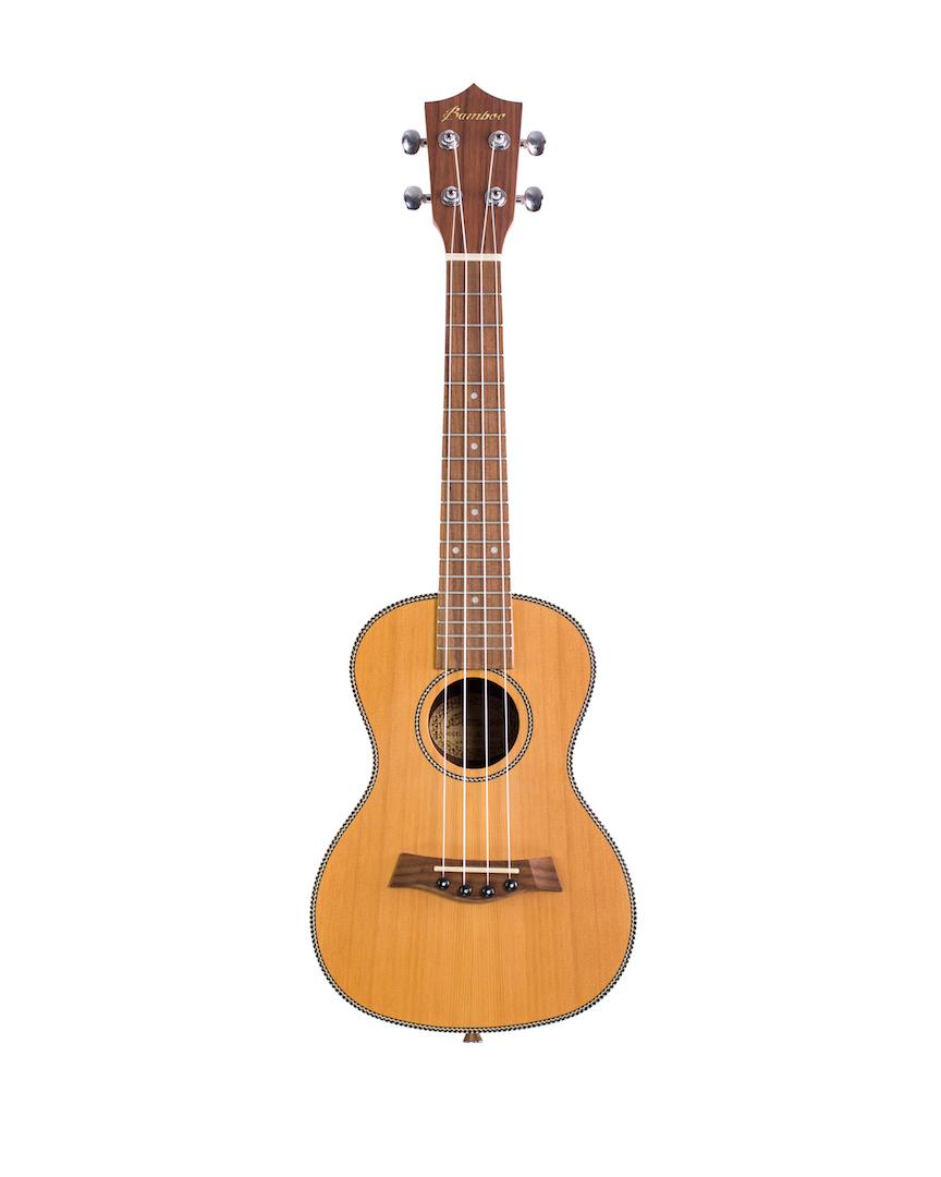 "Ukulele Concert Bamboo 23"" - Modelo Solid Cedar"