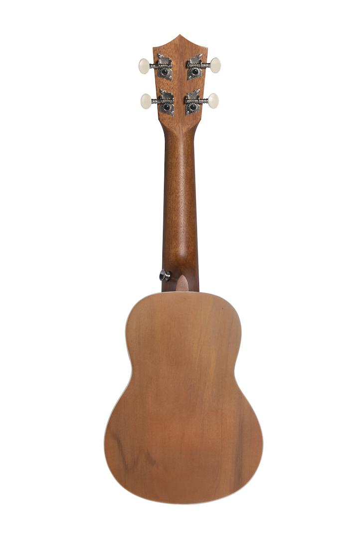 "Ukulele Soprano Bamboo 21"" Deep Ocean"