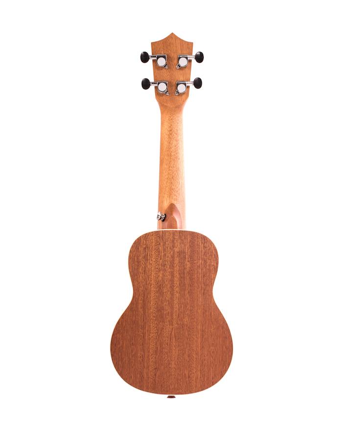 """Ukulele Soprano Bamboo 21"""" Elixir"""