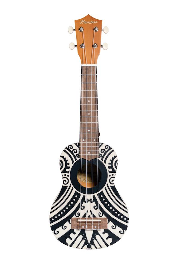 "Ukulele Soprano Bamboo 21"" Mahori"