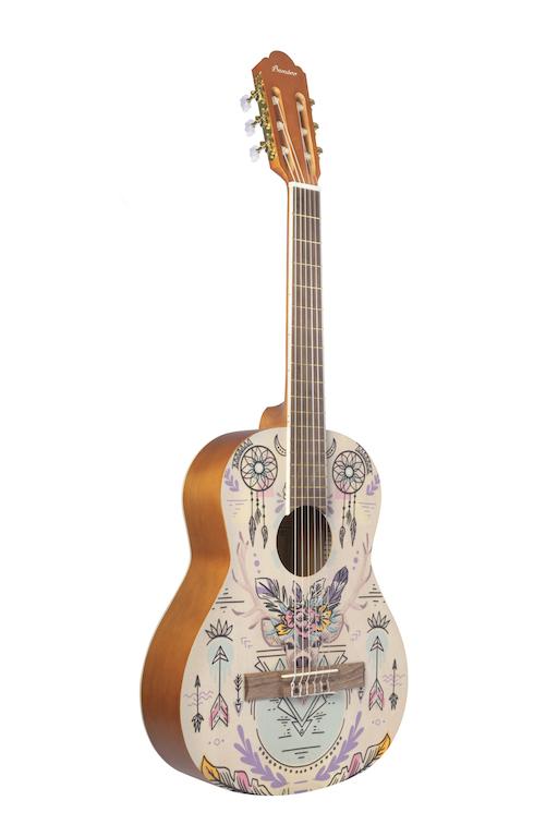 "Violão Indi Travel Classic Bamboo 36"""
