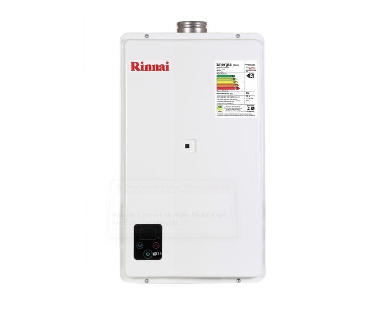 Aquecedor a Gás E33 Rinnai - 32,5 litros