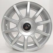 Jogo 4 Rodas Daimler Aro 15 Brw 4x100 4x108 Vw Ford Gm Anúncio com variação