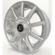 Jogo De Rodas Aro 15x6 Daimler 4x100/108 Prata Brw 1570