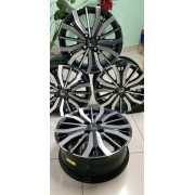 Jogo Roda Honda City Aro 15 Civic Fit S04 Grafite Diamantada