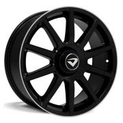 Jogo Roda Volcano Daimler Aro 17 4x100/108 Tala 6 Fox Vw Top