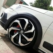 Rodas Tarantula Aro 15 Volkswagen Voyage Gol Up(jogo) +bicos