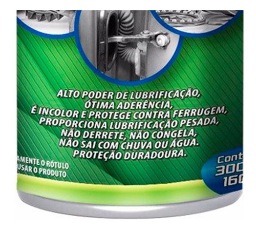 Graxa Branca Autoshine Lubrificante Carbonpro 300 Ml - Top