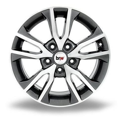 Jogo De Roda Hyundai Creta Aro 16x6 5x114 Brw1360