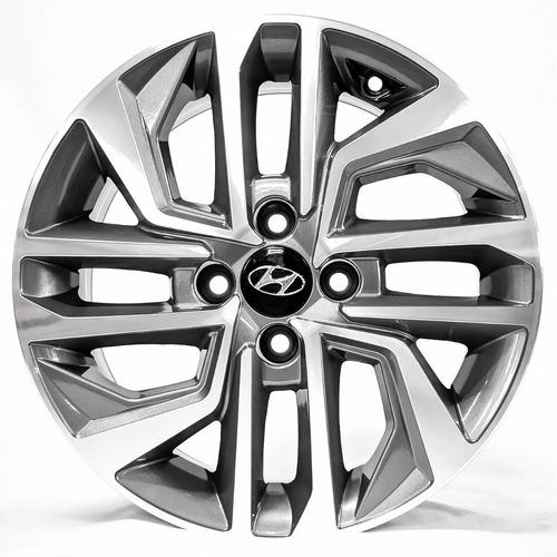 Jogo Rodas Aro14 Hyundai Hb20 2020 Zunk Zk870 - 4x100