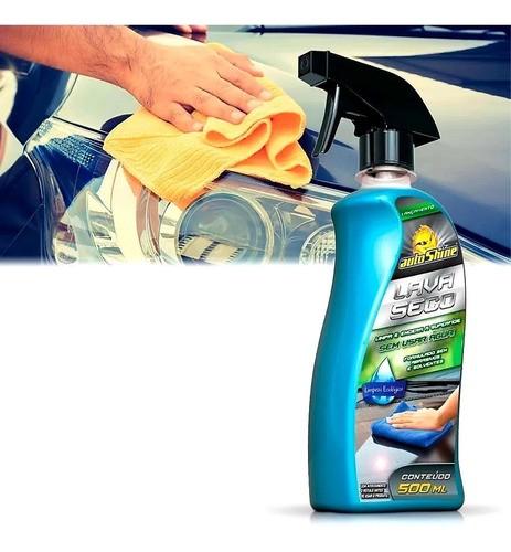 Kit 10 Lava A Seco Automotivo Encera Lavagem Eco Autoshine
