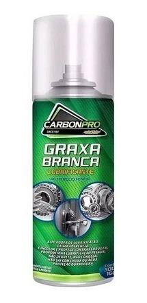 Kit 4 Graxa Branca Autoshine Lubrificante Carbonpro