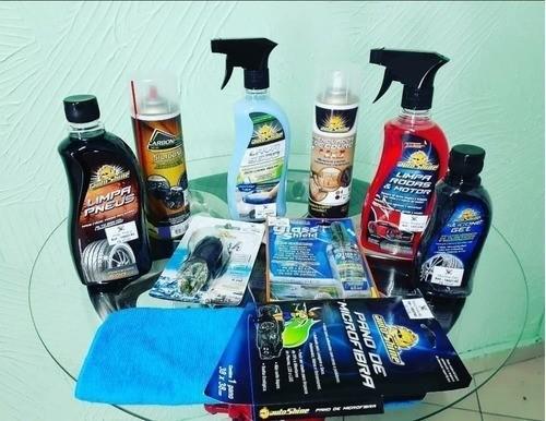 Kit De Estética E Limpeza Automotiva S/ Utilizar Água Top
