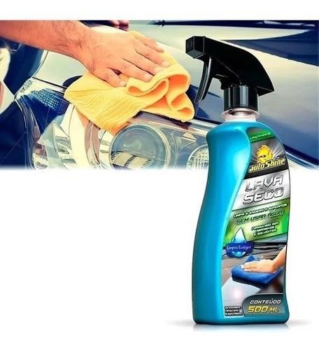 Kit Limpeza E Renovação Automotivo Autoshine Carro Brilhante