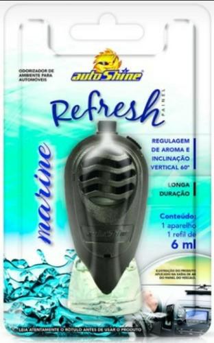 Kit Odorizante Refresh Painel Marine E Citrus Autoshine C/12