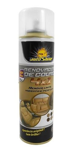 Limpa Renova Hidrata Couro De Jaqueta Spray Autoshine
