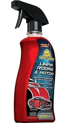 Limpador De Rodas E Motor Autoshine 500ml