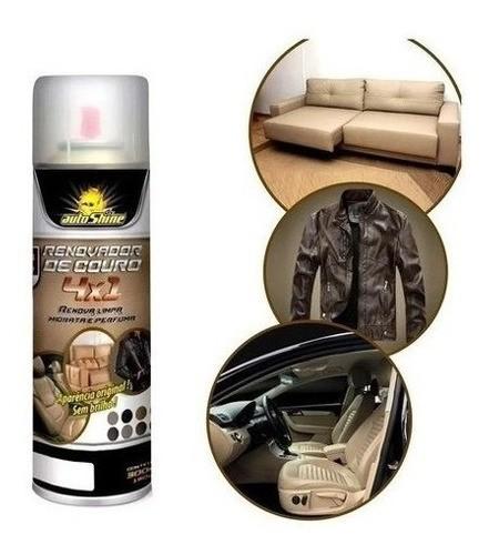 Renovador De Couro Spray Autoshine