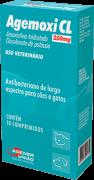AGEMOXI CL 250MG C/ 10 COMPRIMIDOS