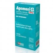 AGEMOXI CL 50MG C/ 10 COMPRIMIDOS
