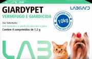 VERMÍFUGO GIARDYPET P/ CÃES E GATOS C/ 4 COMPRIMIDOS