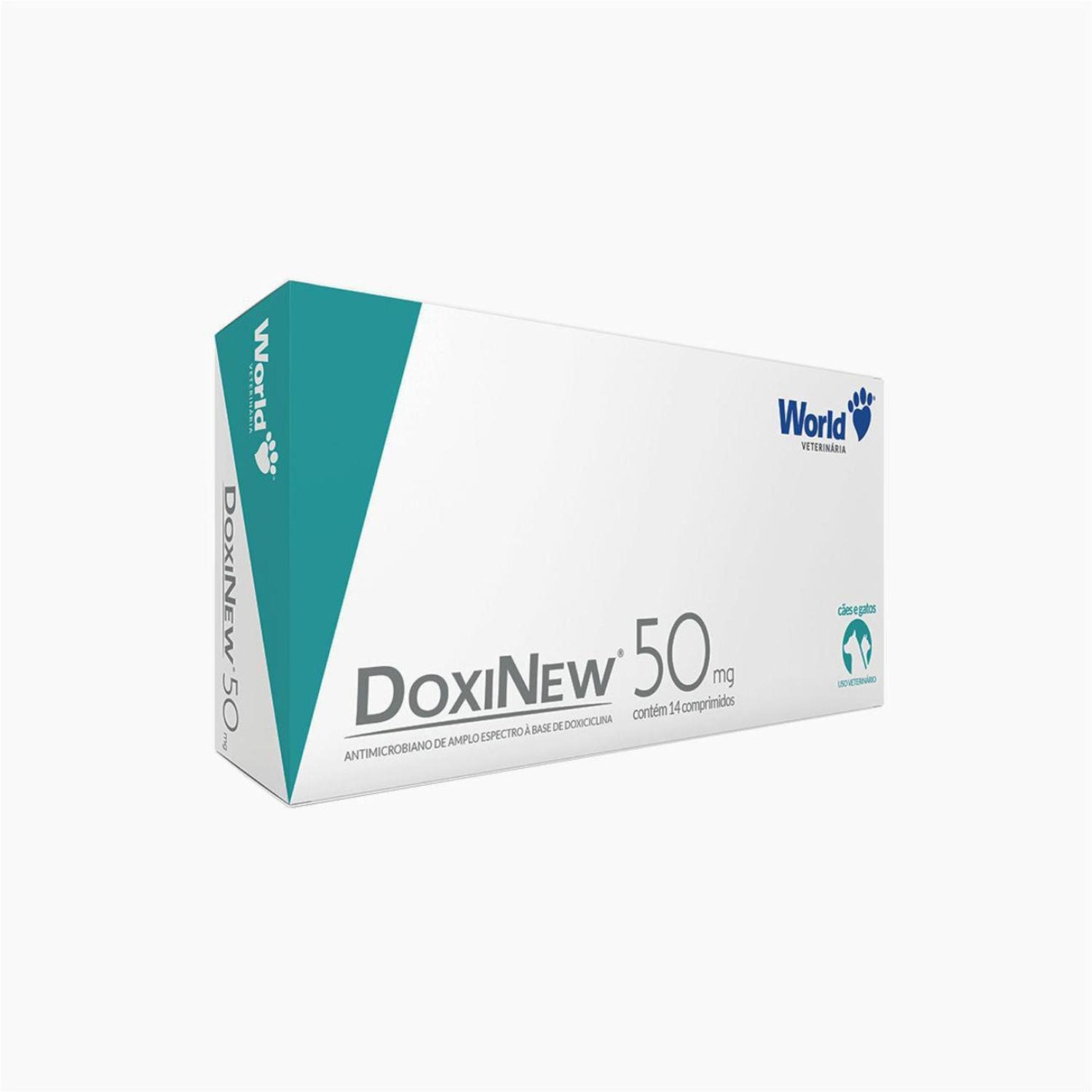 ANTIMICROBIANO DOXINEW 50MG C/ 14 COMPRIMIDOS