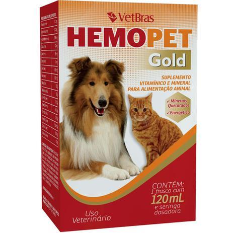 SUPLEMENTO HEMOPET GOLD 120ML