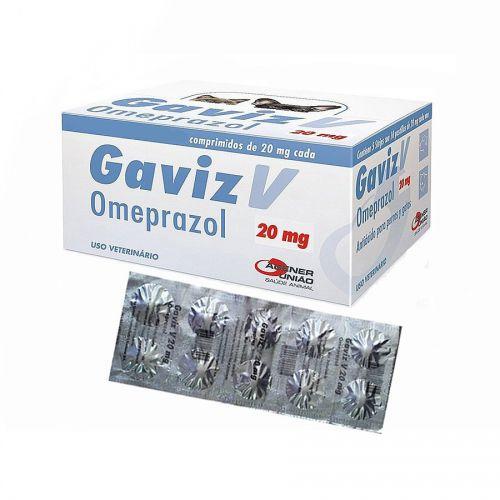GAVIZ V 20MG CARTELA C/ 10 COMPRIMIDOS