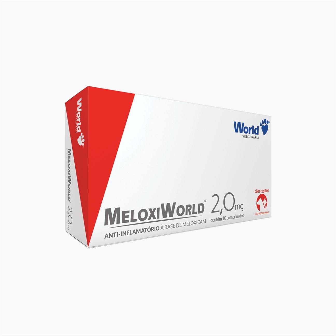 MELOXIWORLD 2,0MG C/ 10 COMPRIMIDOS