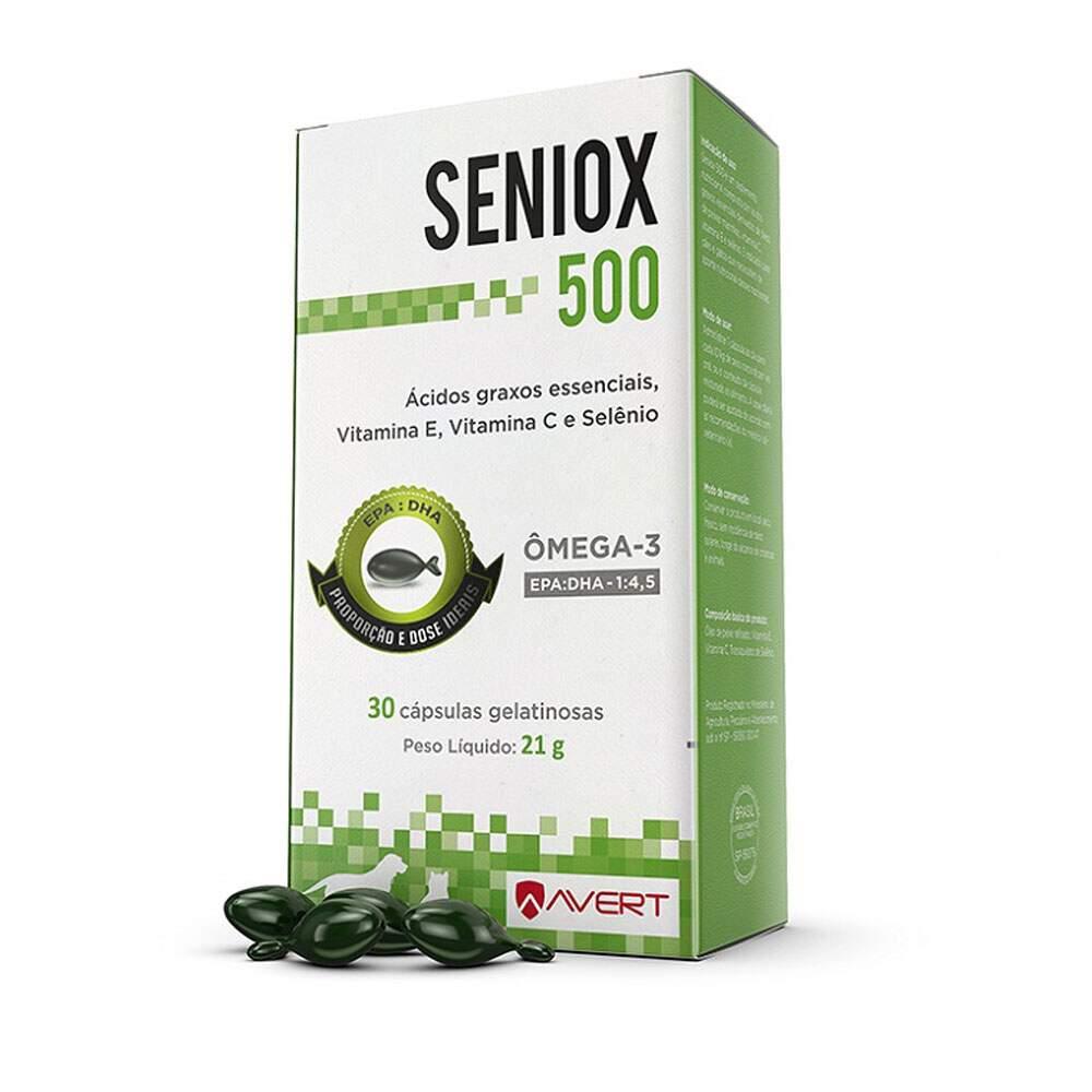 SENIOX 500 C/ 30 CÁPSULAS