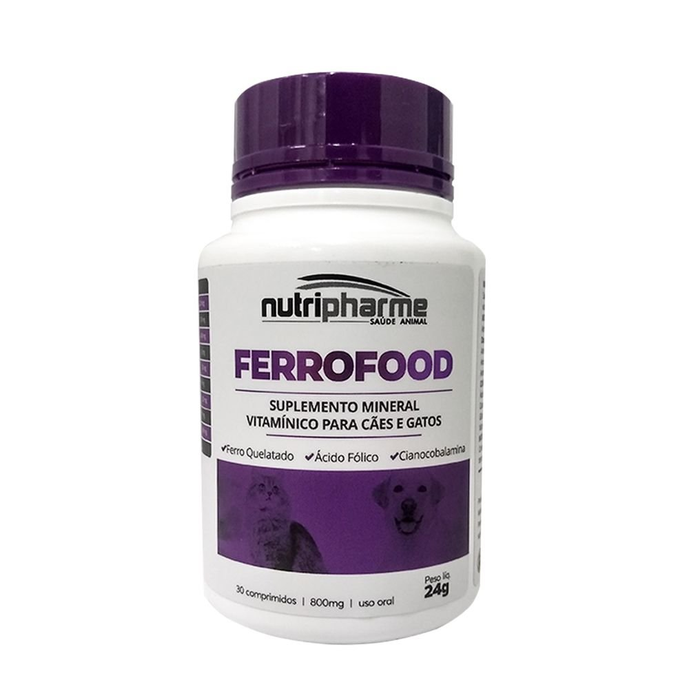SUPLEMENTO FERROFOOD C/ 30 COMPRIMIDOS