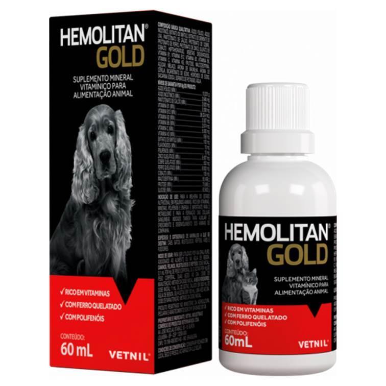 SUPLEMENTO HEMOLITAN GOLD 60ML