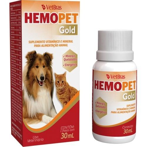 SUPLEMENTO HEMOPET GOLD 30ML