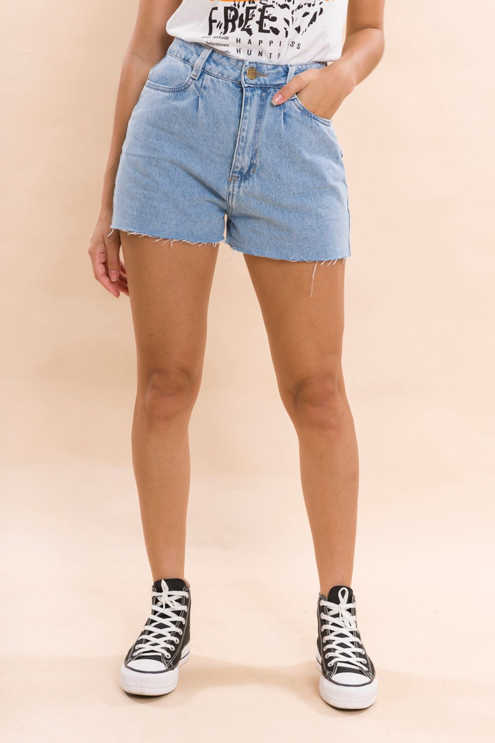 SHORTS JEANS SLOUCHY CANDY
