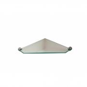 Cantoneira de vidro chanfrado 20 cm Prateleira de Canto