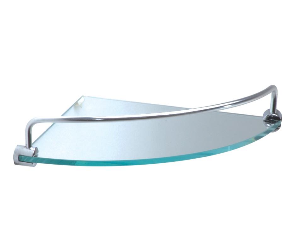 Cantoneira de vidro com grade 20 cm