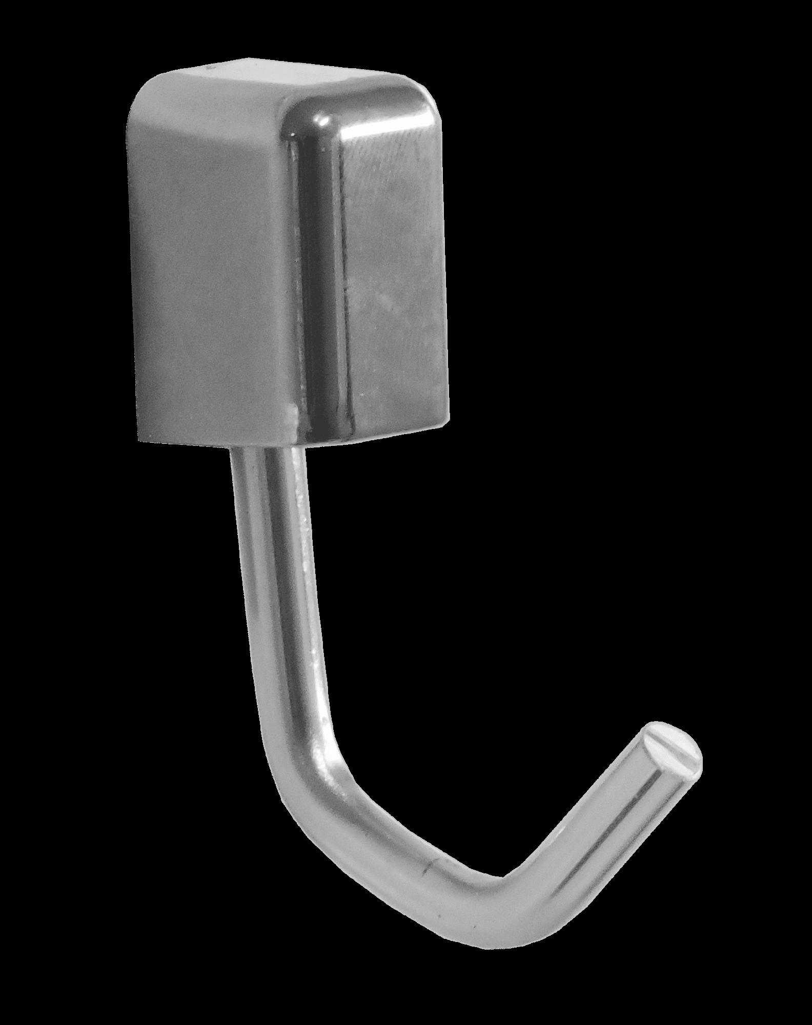 Kit com 2 cabides Multiuso de Alumínio Linha Città
