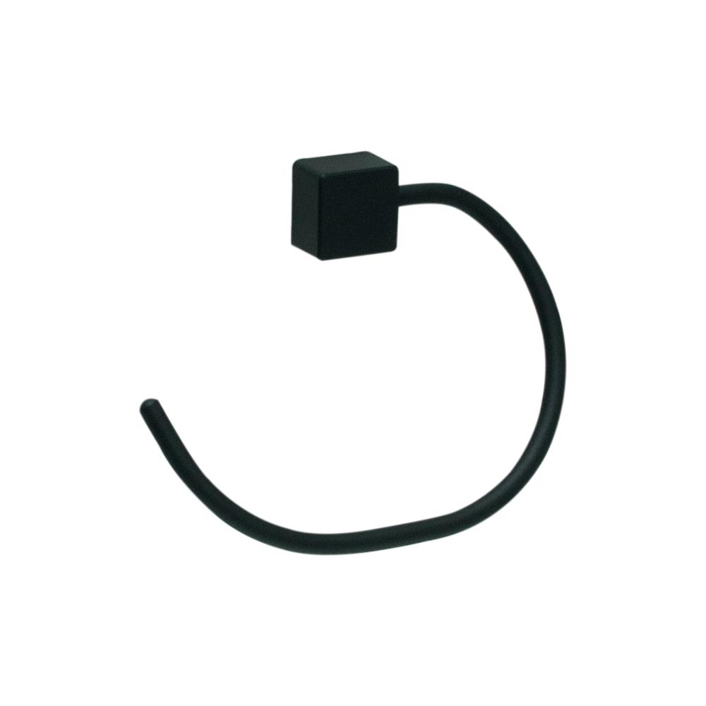 Kit para Banheiro Class Urbana 5 pecas Quadrado Black