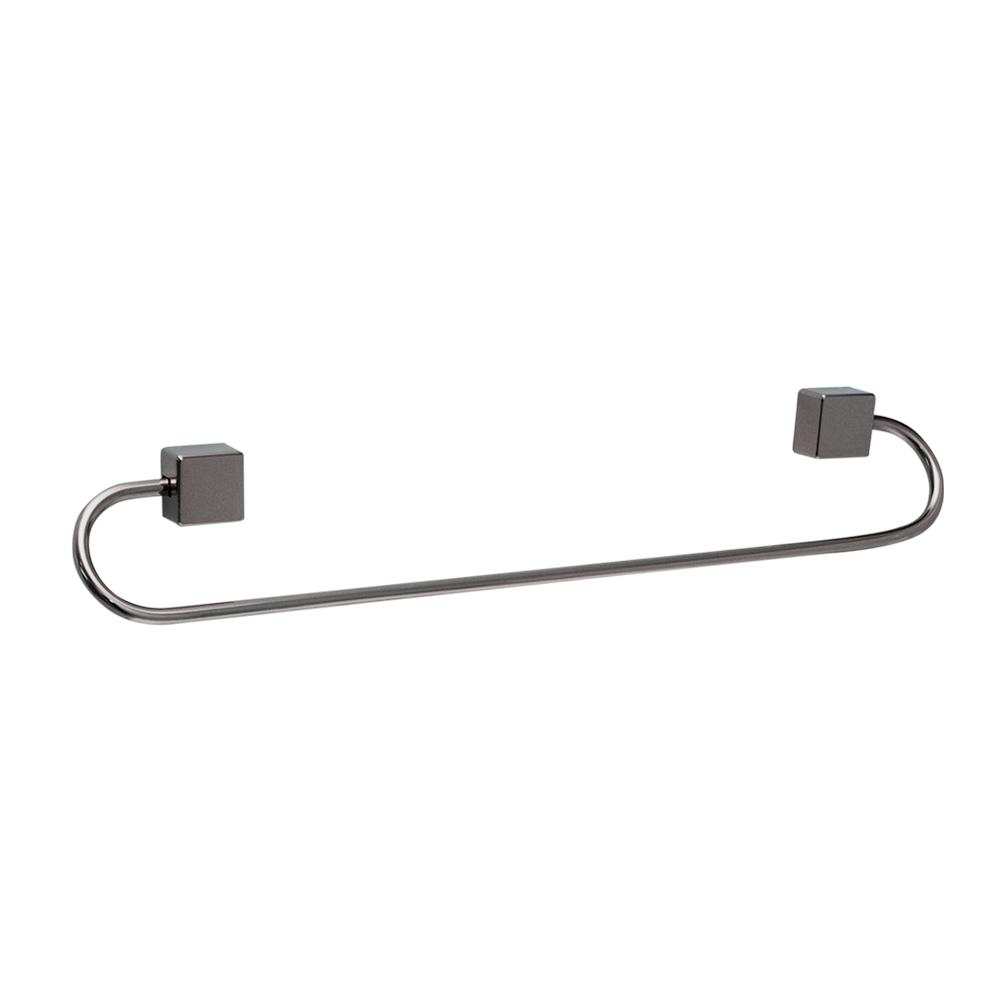 Kit para Banheiro Class Urbana 5 peças Quadrado cor Onix