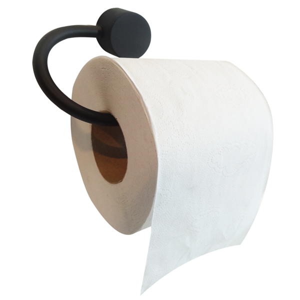 Kit para Banheiro Class Urbana 6 pecas Redondo Black