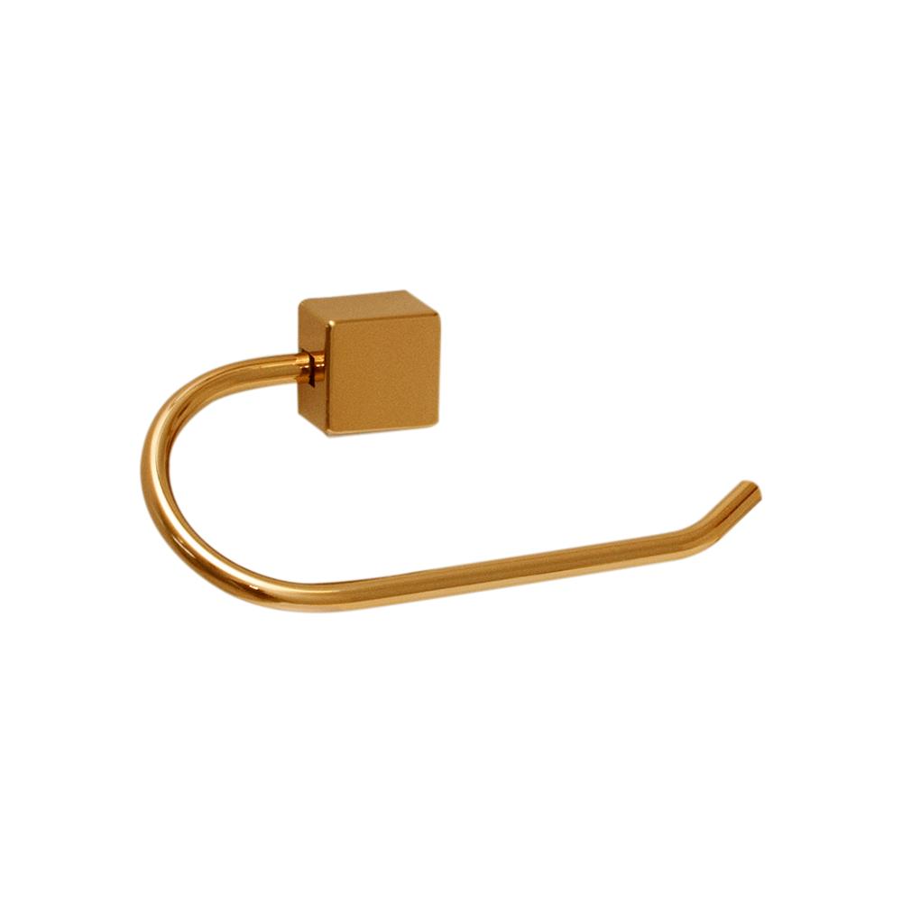 Kit para Banheiro Ouro Class Urbana 5 peças Quadrado Gold